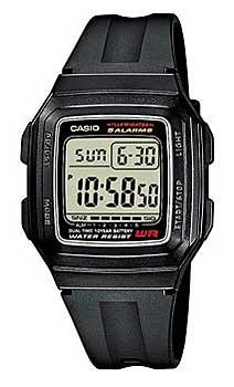 Наручные мужские часы Casio F-201WA-1A