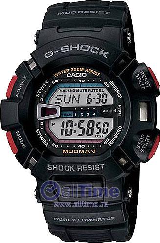 Наручные мужские часы Casio G-9000-1V