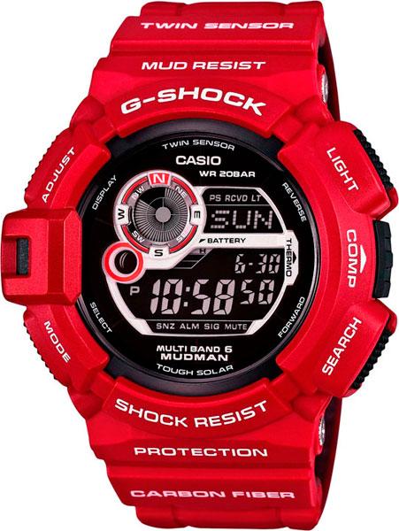 Наручные мужские часы Casio G-9300RD-4E