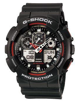 Наручные мужские часы Casio GA-100-1A4
