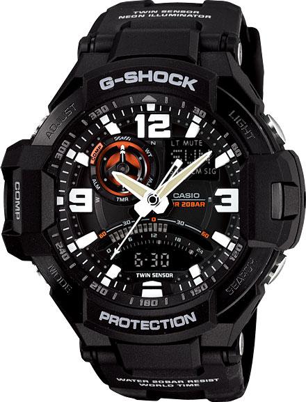 Наручные мужские часы Casio GA-1000-1A