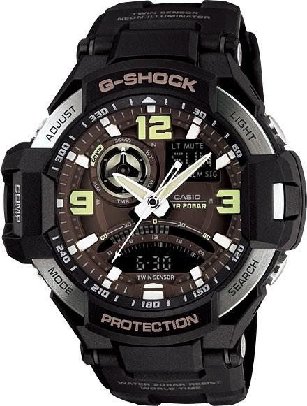 Наручные мужские часы Casio GA-1000-1B
