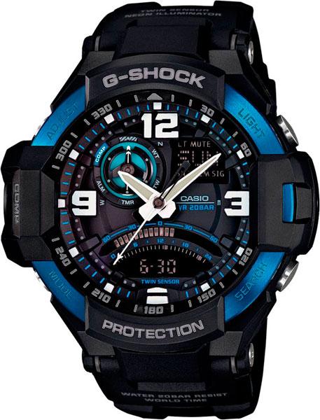 Наручные мужские часы Casio GA-1000-2B