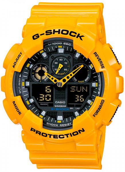 Наручные мужские часы Casio GA-100A-9A