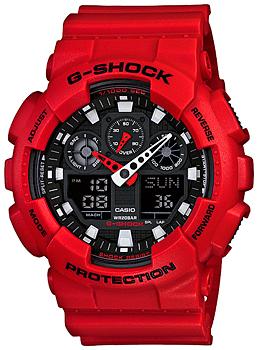 Наручные мужские часы Casio GA-100B-4A