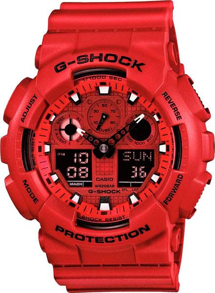 Наручные мужские часы Casio GA-100C-4A