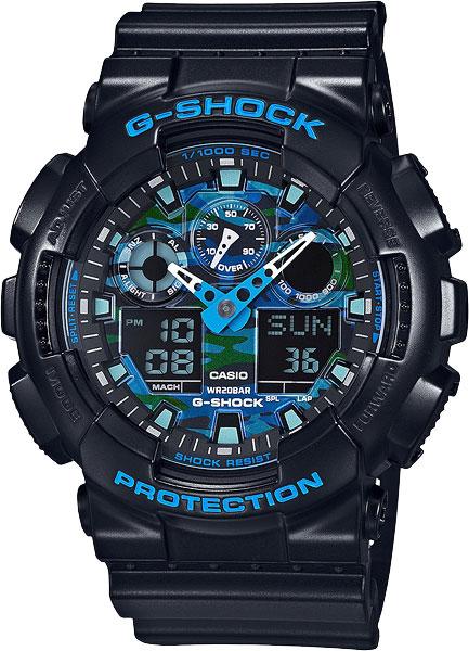 Наручные мужские часы Casio GA-100CB-1A
