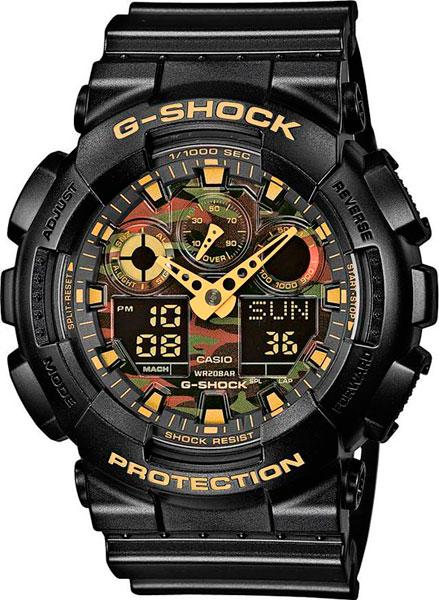 Наручные мужские часы Casio GA-100CF-1A9