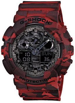 Наручные мужские часы Casio GA-100CM-4A