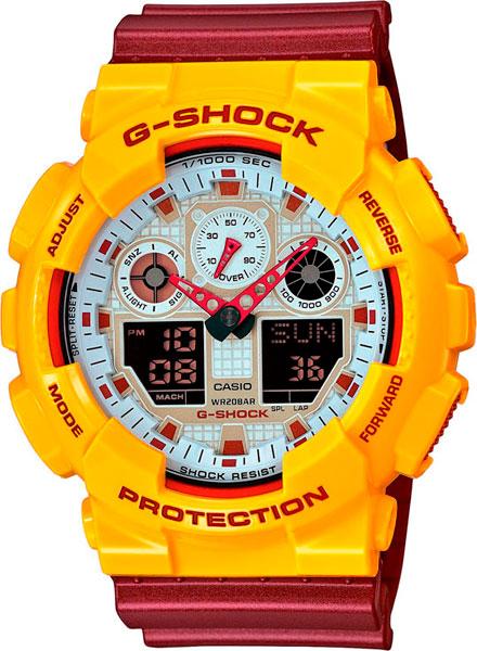 Наручные мужские часы Casio GA-100CS-9A
