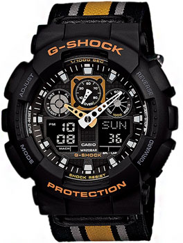 Наручные мужские часы Casio GA-100MC-1A4
