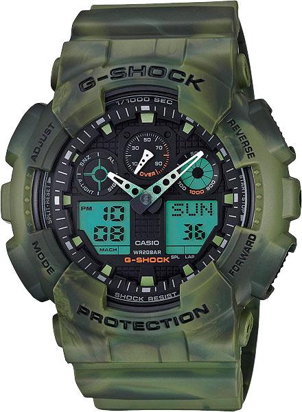 Наручные мужские часы Casio GA-100MM-3A