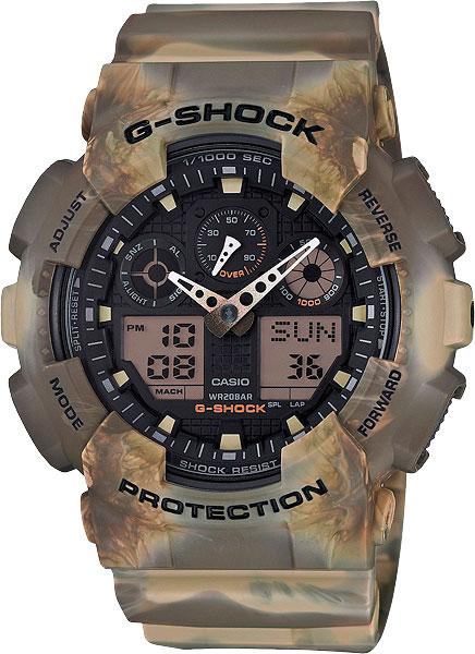 Наручные мужские часы Casio GA-100MM-5A