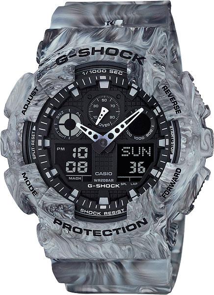 Наручные мужские часы Casio GA-100MM-8A