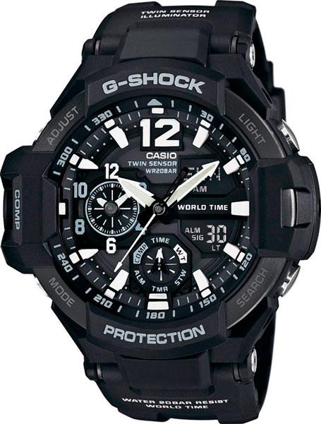 Наручные мужские часы Casio GA-1100-1A