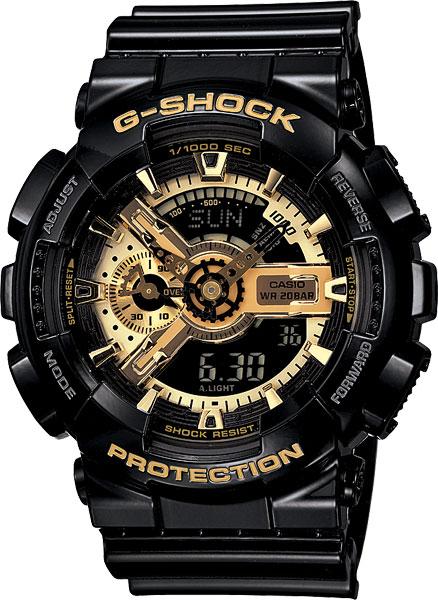 Наручные мужские часы Casio GA-110GB-1A