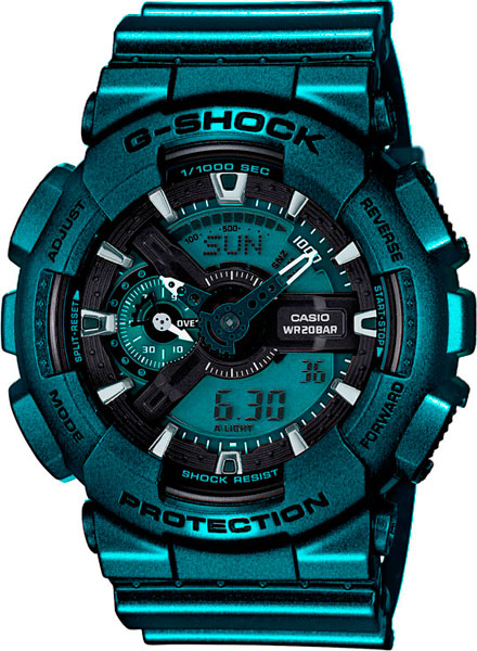 Наручные мужские часы Casio GA-110NM-3A