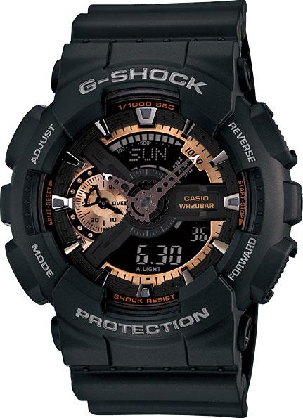 Наручные мужские часы Casio GA-110RG-1A