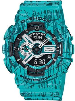 Наручные мужские часы Casio GA-110SL-3A