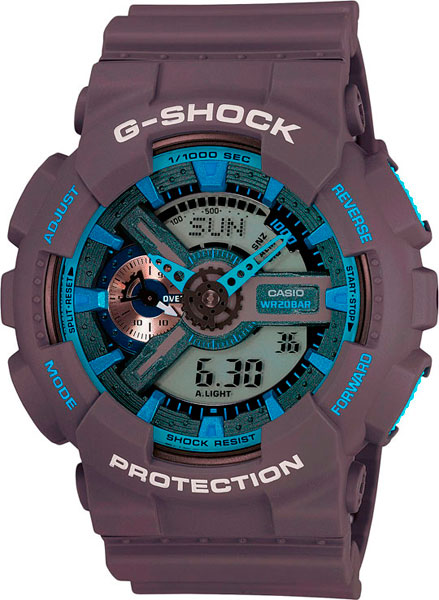 Наручные мужские часы Casio GA-110TS-8A2