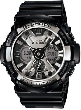 Наручные мужские часы Casio GA-200BW-1A