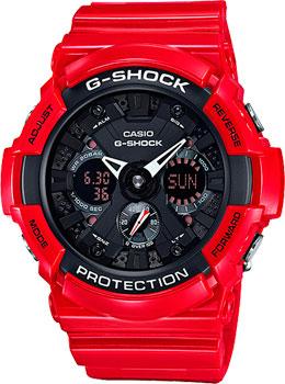 Наручные мужские часы Casio GA-201RD-4A
