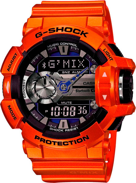 Наручные мужские часы Casio GBA-400-4B