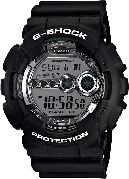 Наручные мужские часы Casio GD-100BW-1D