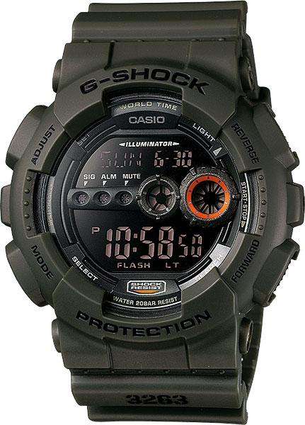 Наручные мужские часы Casio GD-100MS-3E