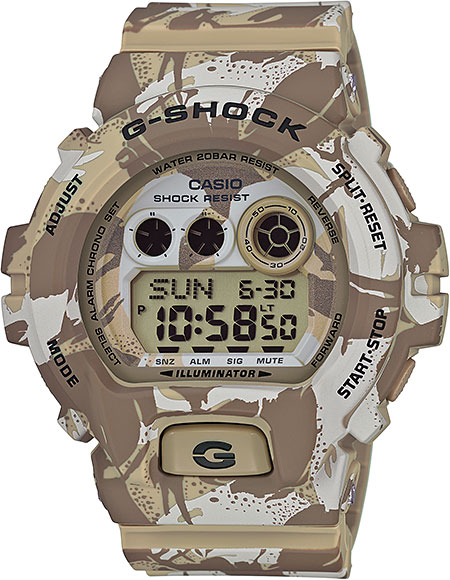 Наручные мужские часы Casio GD-X6900MC-5E