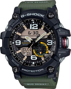 Наручные мужские часы Casio GG-1000-1A3