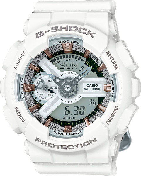 Наручные женские часы Casio GMA-S110CM-7A2
