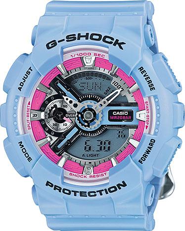 Наручные женские часы Casio GMA-S110F-2A