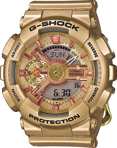 Наручные женские часы Casio GMA-S110GD-4A2