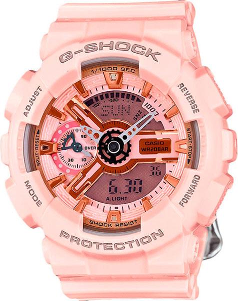 Наручные женские часы Casio GMA-S110MP-4A1