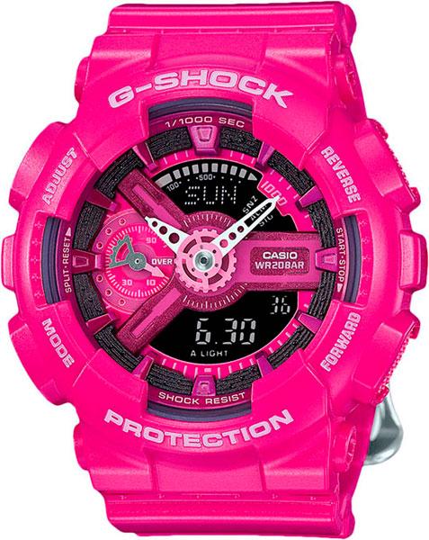 Наручные женские часы Casio GMA-S110MP-4A3