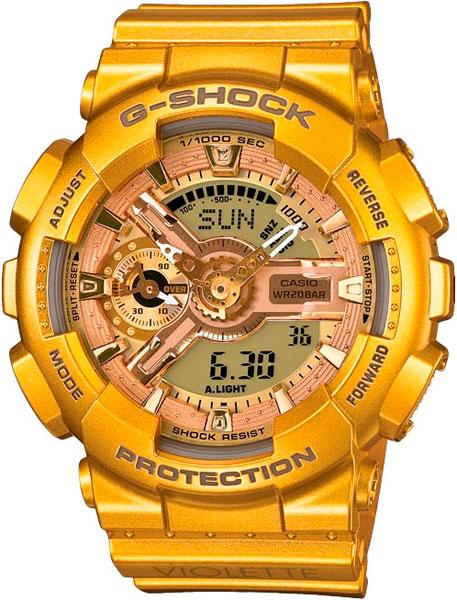 Наручные женские часы Casio GMA-S110VK-9A