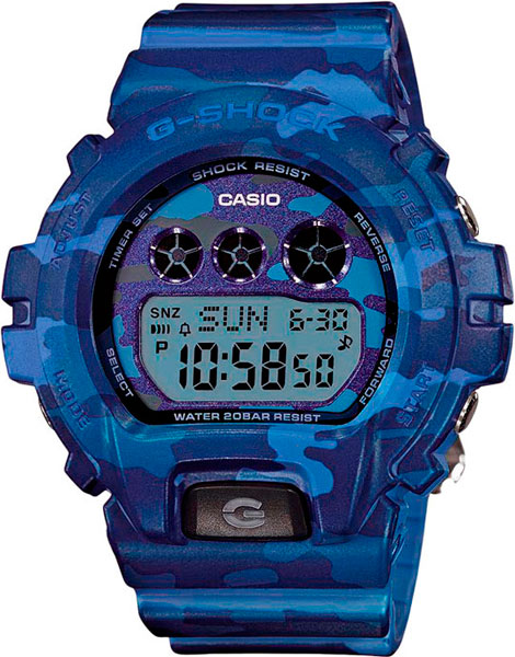 Наручные женские часы Casio GMD-S6900CF-2E