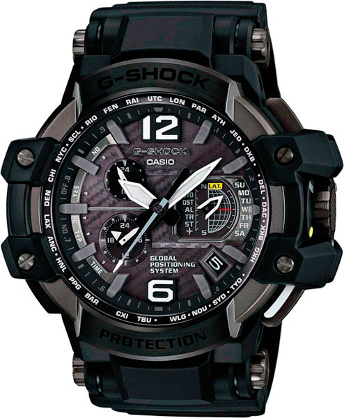 Наручные мужские часы Casio GPW-1000-1B