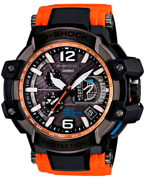 Наручные мужские часы Casio GPW-1000-4A