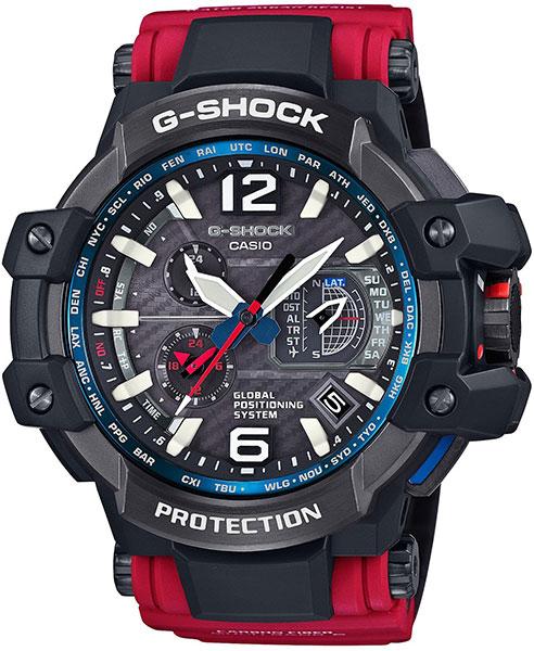 Наручные мужские часы Casio GPW-1000RD-4A