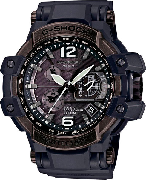 Наручные мужские часы Casio GPW-1000V-1A