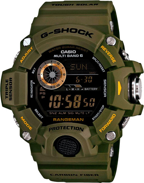 Наручные мужские часы Casio GW-9400-3E