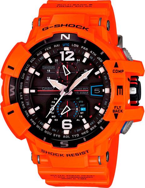 Наручные мужские часы Casio GW-A1100R-4A