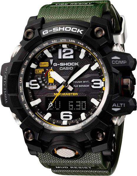 Наручные мужские часы Casio GWG-1000-1A3