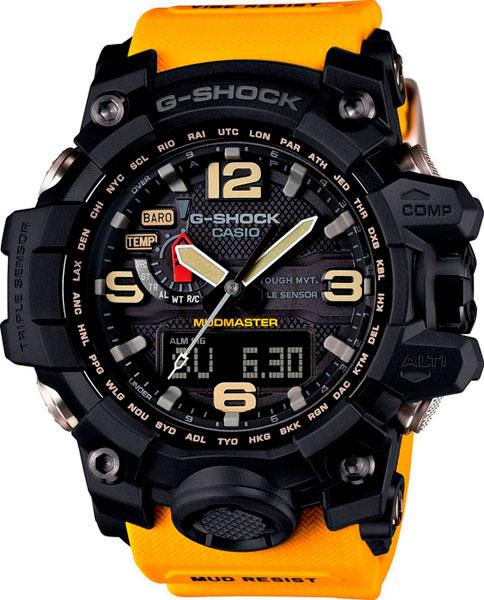 Наручные мужские часы Casio GWG-1000-1A9