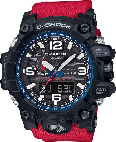 Наручные мужские часы Casio GWG-1000RD-4A