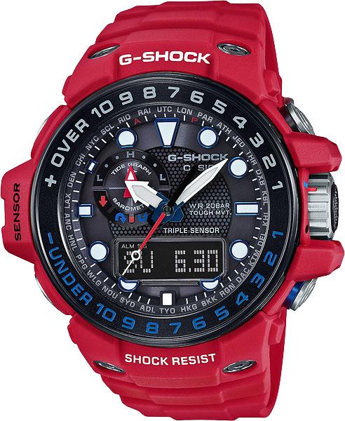 Наручные мужские часы Casio GWN-1000RD-4A