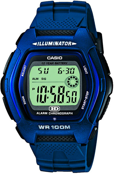 Наручные мужские часы Casio HDD-600C-2A