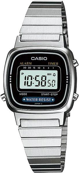 Наручные женские часы Casio LA-670WEA-1E